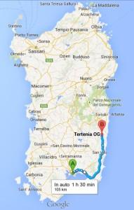 Cagliari - Marina di Tertenia