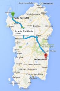 Porto Torres - Marina di Tertenia